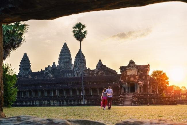 Voyage de noces au Cambodge