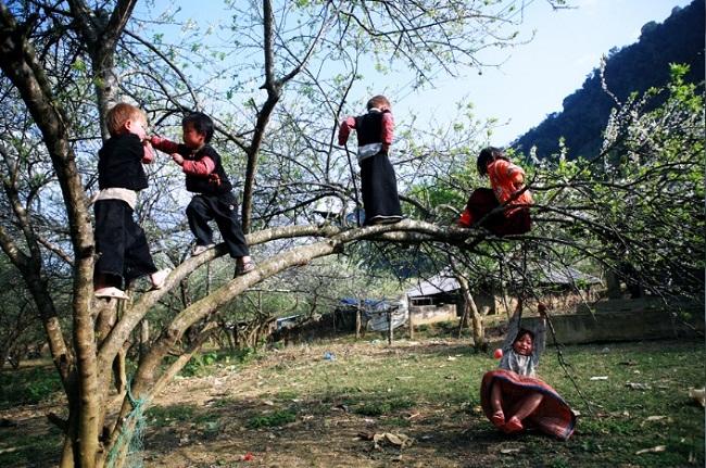 des-enfants-du-nord-ouest-vietnam