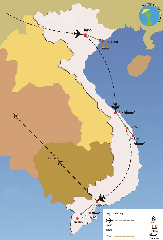 circuit vietnam cambodge 10 jours