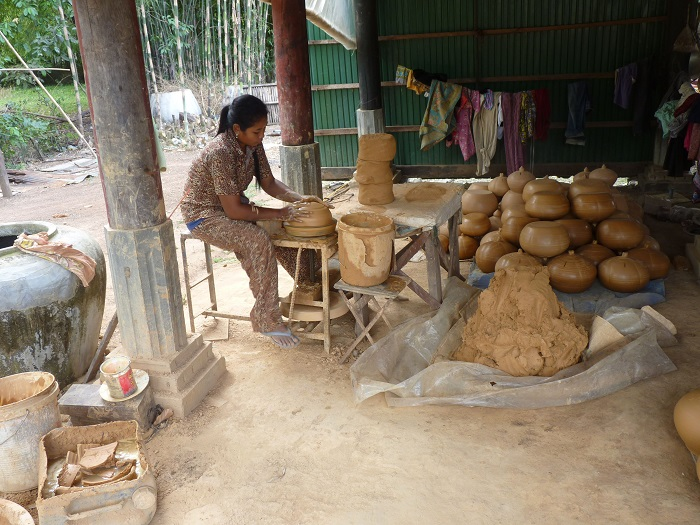 poterie artisanat cambodgien